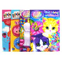 Wholesale Lisa Frank - Lalaloopsy - Coloring Books - Activit - GLW