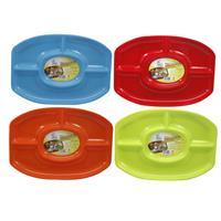 Wholesale 4 SECTION SERVING PLATTER 18-1/4 x 13''