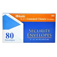 Wholesale Envelopes - Gummed - White - Security - Office - B