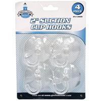 """Wholesale 4pc 2"""" SUCTION CUP HOOKS"""