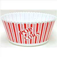 "Wholesale Round Pop Corn Bowl 10"""""""" x 5"""""""""
