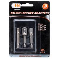 Wholesale 3pc STUBBY SOCKET ADAPTERS