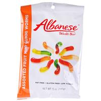 Wholesale World's Best Mini Gummi Worms Assorted Flavors