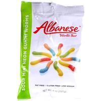 Wholesale Albanese Gummi Mini Sour Neon Worms