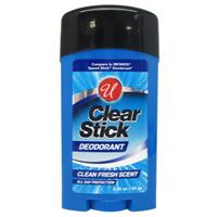 Wholesale 2.25OZ CLEAR DEODORANT STICK