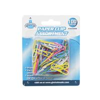 Wholesale 100pc PAPER CLIPS - 1-1/4 INCH