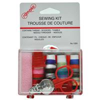 Wholesale Travel Sewing Kit in Hard Plastic Case
