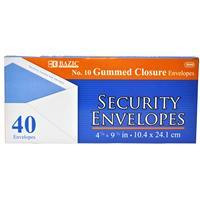 Wholesale Envelopes - Gummed - White - Security - Office - B