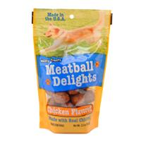 Wholesale Meaty Treats Meatball Delights Chicken Flavored Do