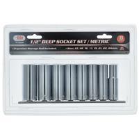 "Wholesale 8PC 1/2"" Dr. Deepwell Socket Set/Metric"