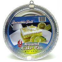 "Wholesale Round Cake Pan - Foil 8.5 x 1.5"""""""""