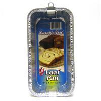 """Wholesale Loaf Pan - Foil  2lb 8 x 3.75 x 2.38"""""""
