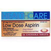 Wholesale Health Care Low Strength Adult Chew Aspirin 81 mg