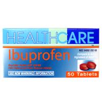 Wholesale Health Care Ibuprofen 200MG Brown Tabs