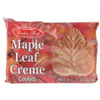 ... maple leaf cookies picture cover the whole cookie the maple leaf is