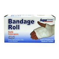 Wholesale Superband Bandage Sterile Cotton Gauze Roll 4.5ö