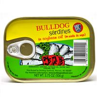 Wholesale Bulldog Sardines in Soybean Oil