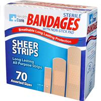 Wholesale 70pc ASSORTED BANDAGE STRIPS