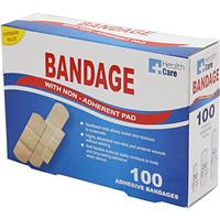 Wholesale 100pk ASSORTED BANDAGE STRIPS