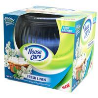 Wholesale 3 oz Boxed Globe Glass Candle - Fresh Linen