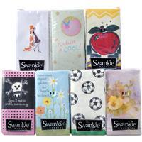 Wholesale Swankie Pocket Tissue - 5 Assorted Prints - GLW