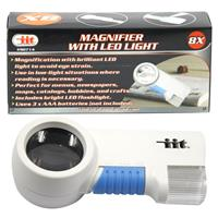Wholesale 8 x MAGNIFIER w/ LED LIGHT
