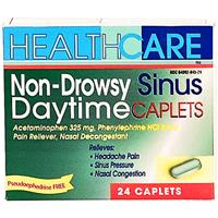 Wholesale Health Care Non-Drowsy Daytime APAP Sinus Caplets