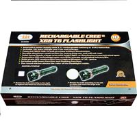 Wholesale RECHARGABLE CREE T6 FLASHLIGHT