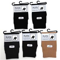 Wholesale Ladies Trouser Anklet Socks Assorted Colors Size 9-11