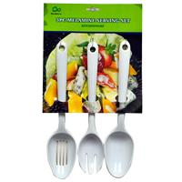 Wholesale Melamine Serving Set - Spoon, Slot Spoon & Fork