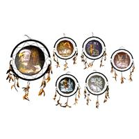 "Wholesale Dream Catchers 24"" 6 Assorted."