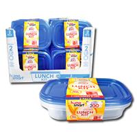 Wholesale 2PK DIVIDER CONTAINERS 24/25OZ
