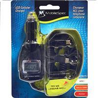 Wholesale MobileSpec Charger LCD Cellular 12V