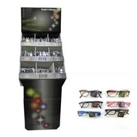 Wholesale Reading Glasses Display Assorted Plastic and Metal