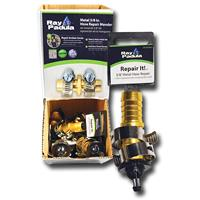 Wholesale 5/8 BRASS METAL HOSE REPAIR & 2 CLAMPS