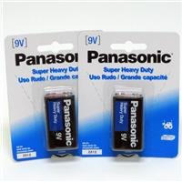 Wholesale Panasonic Heavy Duty 9V Battery 1 Pack