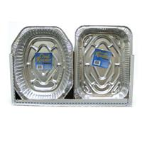 Wholesale Durable Large Oval & Rectangle Roaster Pans w/Rack