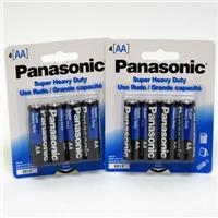 Wholesale Panasonic Heavy Duty AA Battery 4 Pack