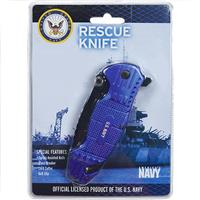 Wholesale ZUS Navy Licensed Spring Assist Knife