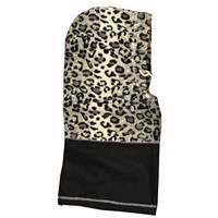Wholesale Hot Headz 6 In 1 Hood, Facemask, Scarf, Balaclava, Beanie, bag - Snow Leopard